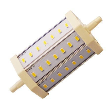 JSG Accessories® J118 R7S 10W LED Bulb Lamp Light 85-265V AC replacement for Halogen Flood Lamp [Warm White]